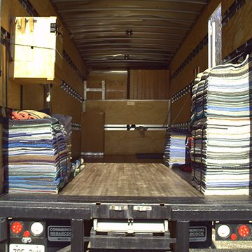 planning your next move? loading truck